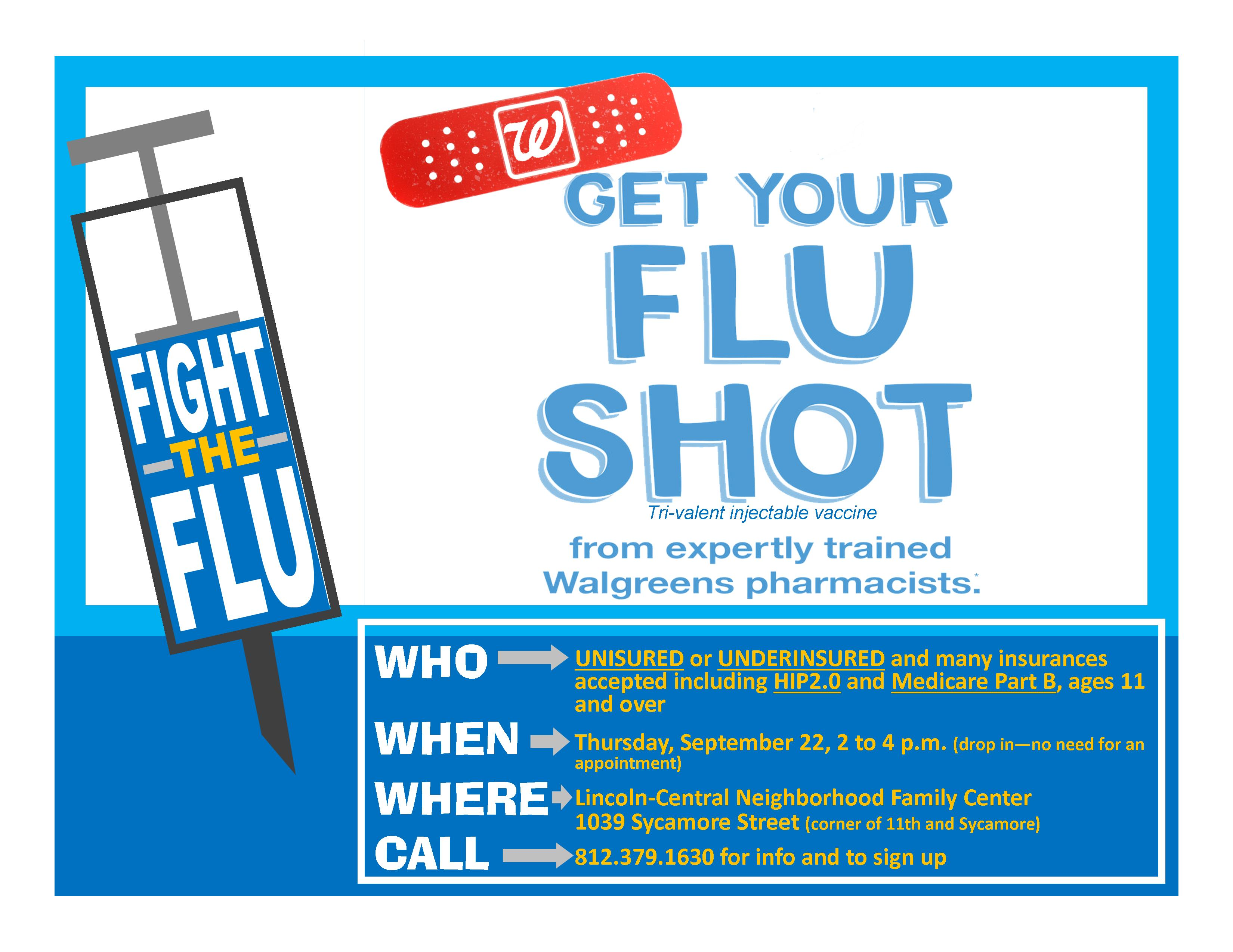 Flu season is not here yet - but flu shot season is. Pharmacies such as CVS and Walgreens are running massive ad campaigns letting us know that they have plenty of flu .